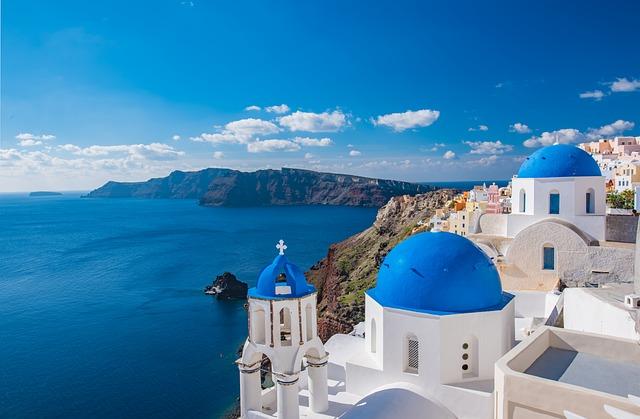 Najkrajší grécky ostrov – Santorini