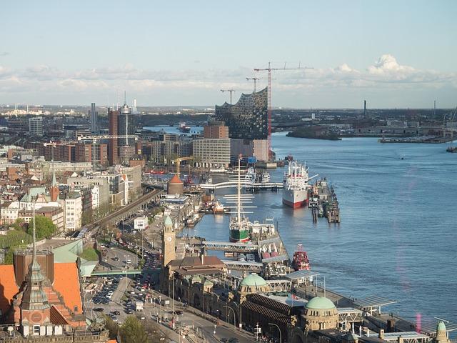 Hamburg nie je iba o priemysle. Našťastie